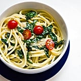 Garlic Anchovy Pasta With Kale