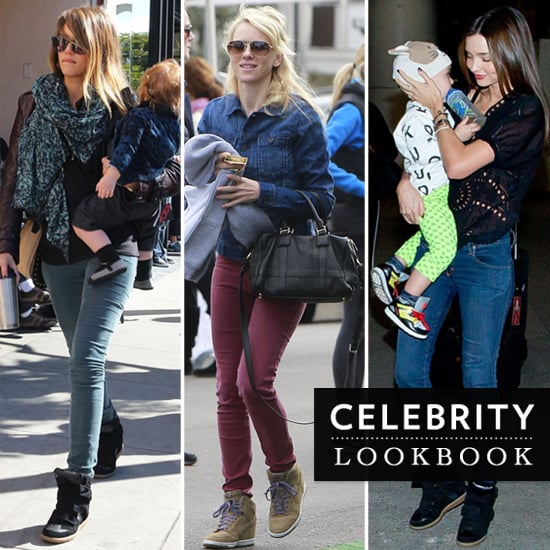 High Top Sneakers (Celebrity Style