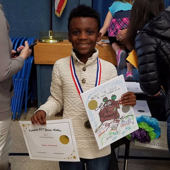 Boy With Autism Wins Young Authors Contest