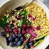Quinoa Salad With Blueberries and Cacao Nibs