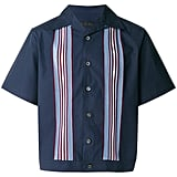 Prada Textured Stripe Board Shirt