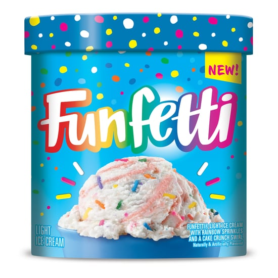 Funfetti Ice Cream Is Popping Up on Grocery Store Shelves