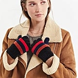 UO Chenille Striped Gloves