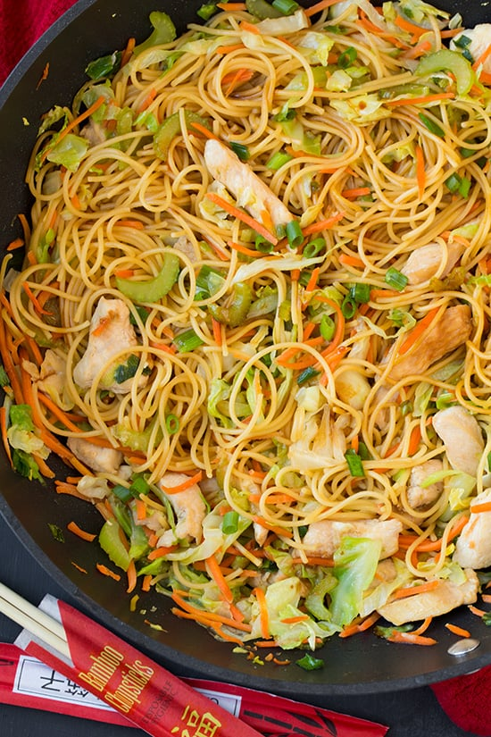 Chicken Chow Mein Classic Stir Fry Recipes Popsugar Food Photo 4