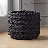 Renata: Black Braided Basket