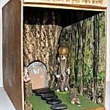 Bookshelf Fairy House