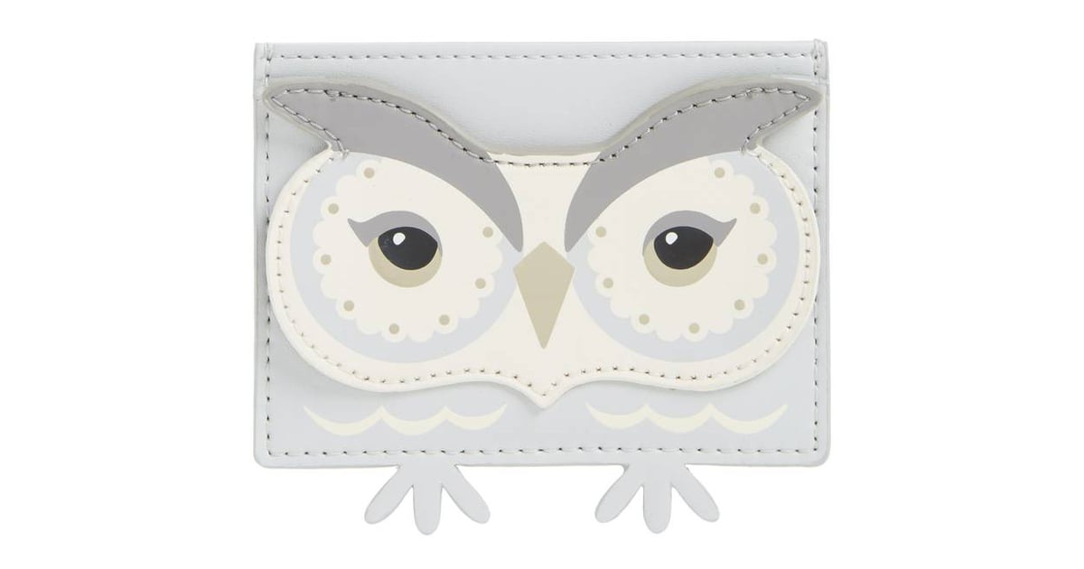 Kate Spade Starbright Owl Business Card Holder | Gifts For Working ...