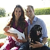 The Palace Releases the First Family Portrait