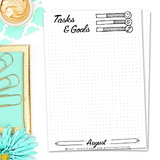 Free Printable Goal Sheets