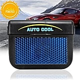 Qiyun Solar Powered Auto Air Vent Cooling Fan