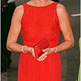 Diana arrived at a gala at the Museum of Women in the Arts in Washington DC in June 1997.