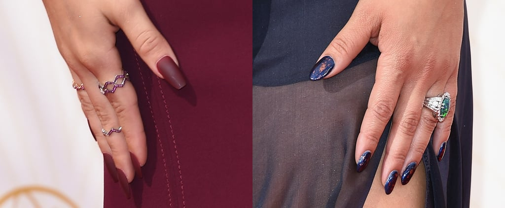 Celebrity Nails From Award Show Red Carpets 2015