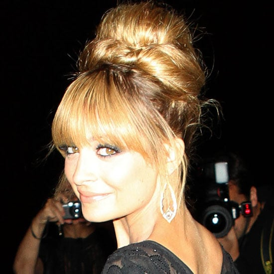 The FiFi Awards — otherwise known as the Oscars of the fragrance industry — just wrapped up in New York City and, as well as celebrating the night's winners — Gucci Guilty Pour Homme, Tom Ford Violet Blonde and Justin Bieber Someday were amongst them — it's also an excuse for the industry to get glammed up. And no one looked more amazing than Nicole Richie who managed a quick trip Stateside after joining Joel in Sydney a couple of weeks ago. Nicole, who's in the process of creating her first fragrance, opted for a retro up 'do that had a hint of Brigitte Bardot to it. Wearing it with a smoky eye, she definitely won Best Tressed of the night.