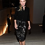 Renée Zellweger at the Tom Ford Fall 2020 Show