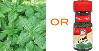 At Home Spa Treatment: Basil Tonic for Acne
