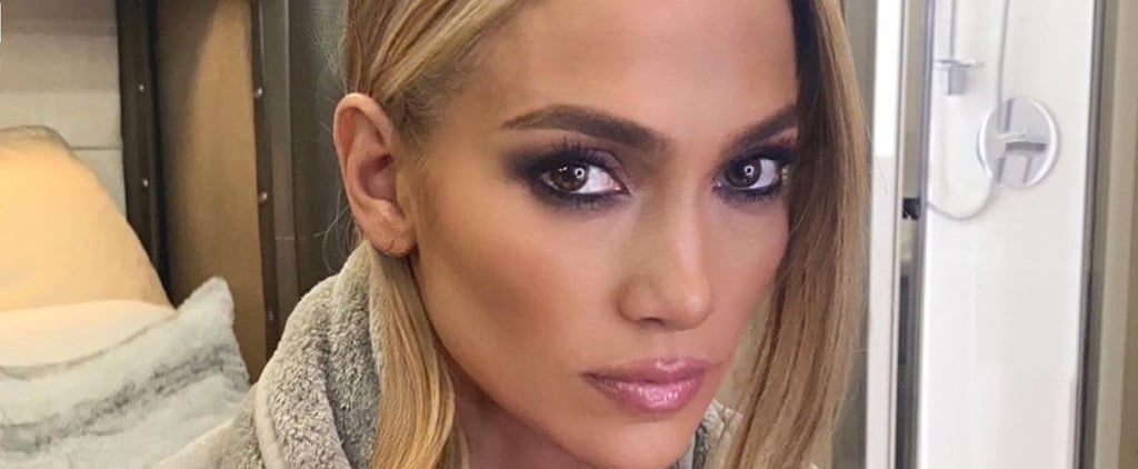 Jennifer Lopez Looks Otherworldly in Space Buns Hairstyle