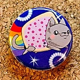Nyan cat button or magnet ($1)