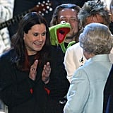 Ozzy Osbourne, Kermit the Frog, and the Queen