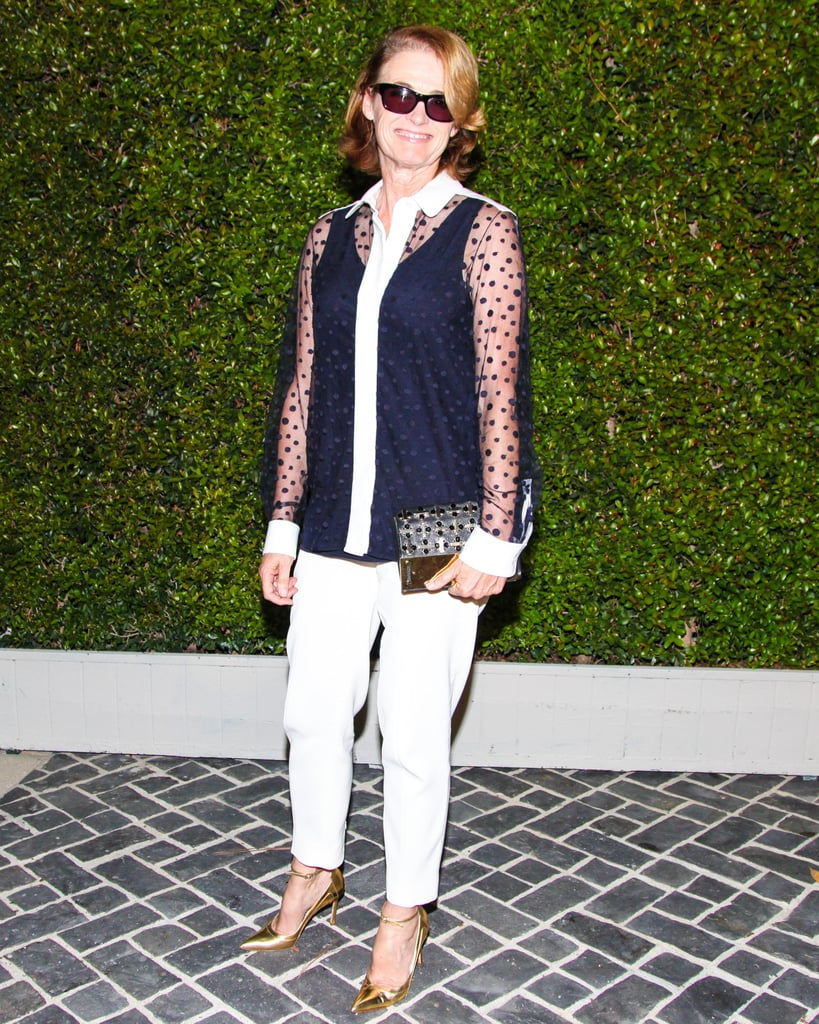 Lisa Love wore her sunglasses at night for Chloé.