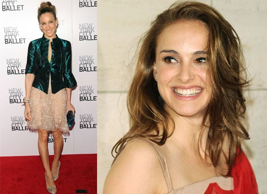Photos of Sarah Jessica Parker and Natalie Portman at the New York Ballet