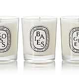 Diptyque Baies, Roses and Figuier Set of Three Candles