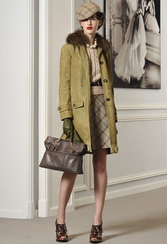 John Galliano Debuts His Take on Royal English Style in Pre-Fall 2011 Collection
