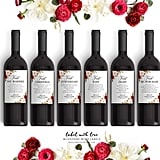 LabelWithLove Fall Wedding Milestone Wine Labels (starting at $12)