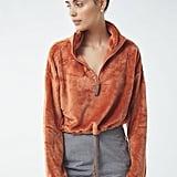 UO Angela Fleece Pullover Top