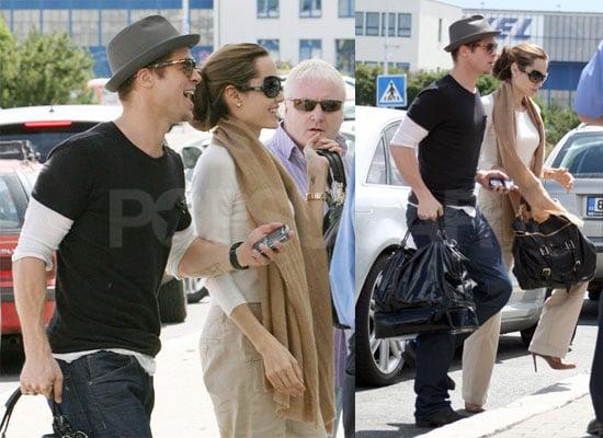 Angelina and Brad's Weekend Getaway