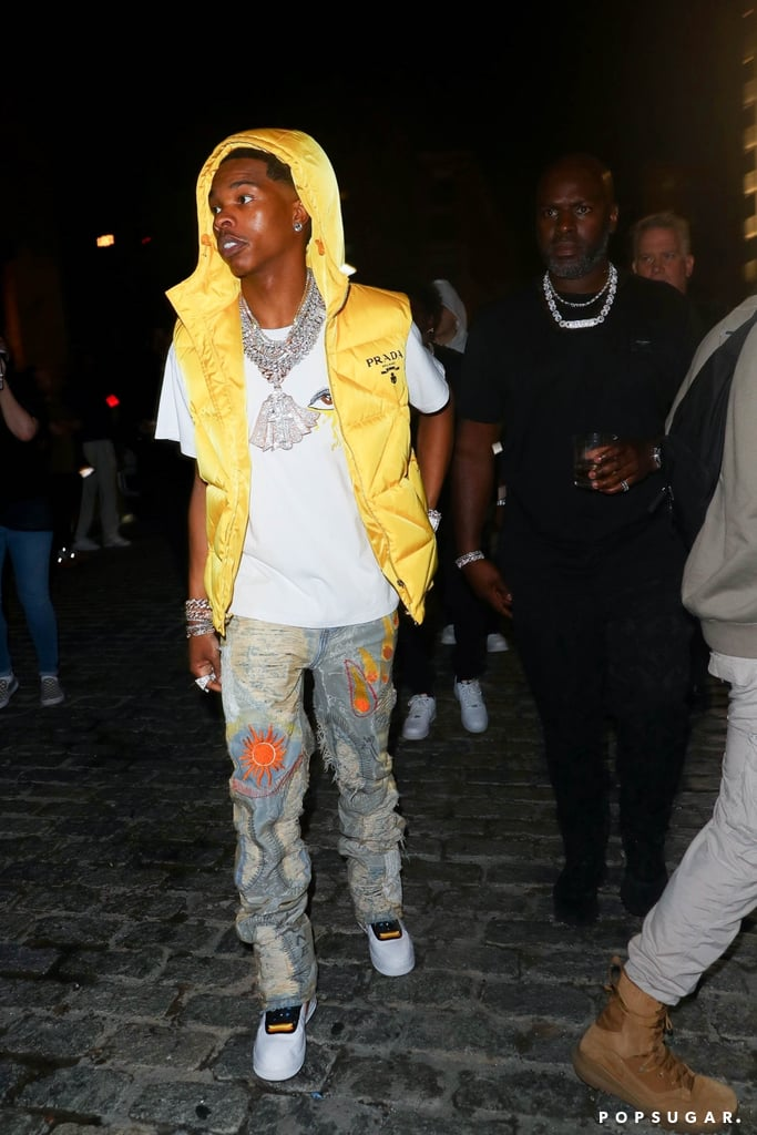 Lil Baby at the 2021 Met Gala Afterparty