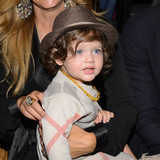 Pictures of Harper Beckham and Skyler Berman at Fashion Week
