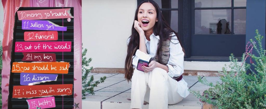 Olivia Rodrigo's 18 Favorite Songs | Playlist