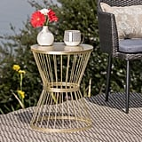 Lassen Iron Side Table