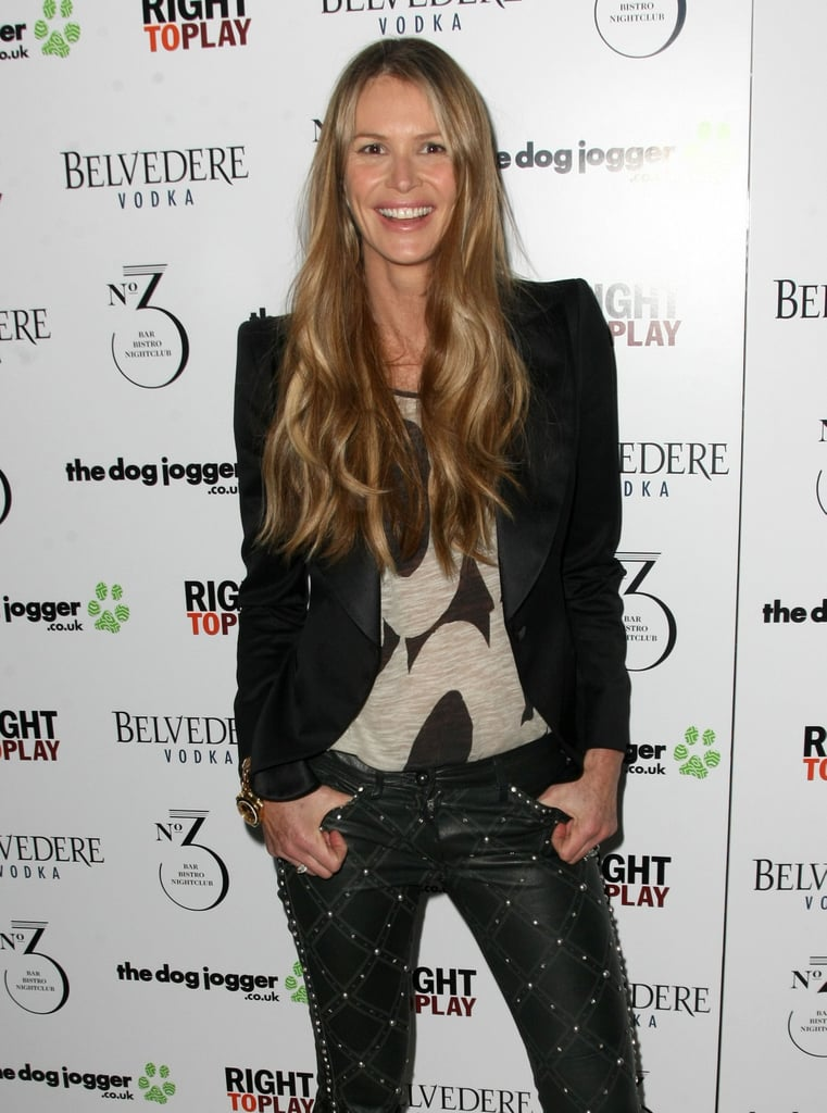 Elle Macpherson stepped onto the carpet at the event.