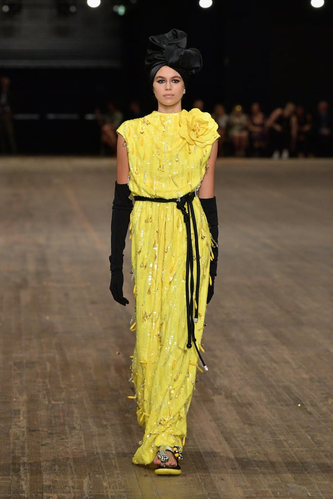 Kaia Closed Out New York Fashion Week as the Final Look at the Marc Jacobs Show