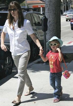 Violet Affleck and Jennifer Garner Wearing Sunglasses