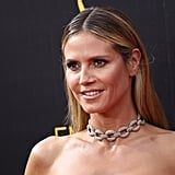 Even Heidi Klum couldn't resist getting in on the trend!