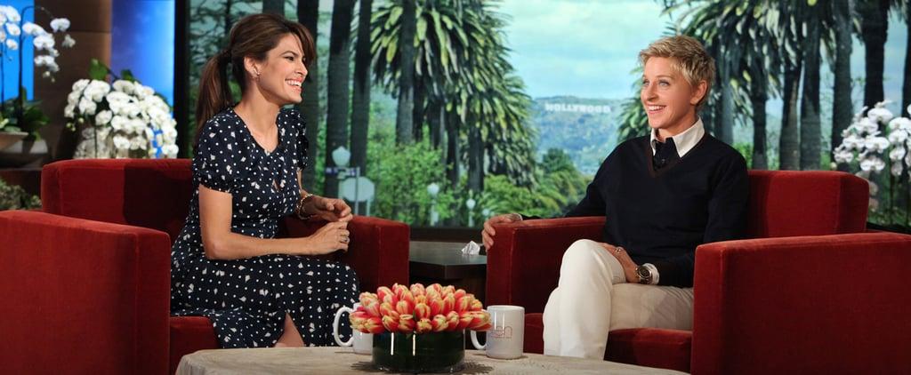 Eva Mendes Interview on The Ellen Show | February 2014