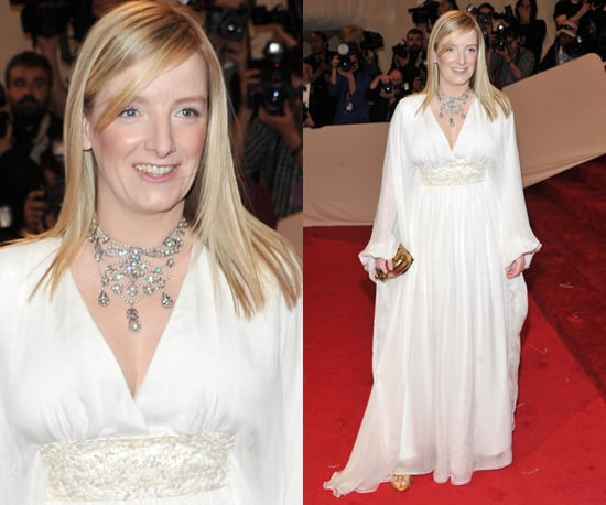 Pictures of Alexander McQueen's Sarah Burton at 2011 Met Costume Institute Gala