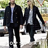 Gwyneth Paltrow and Chris Martin took a couple's stroll around London.