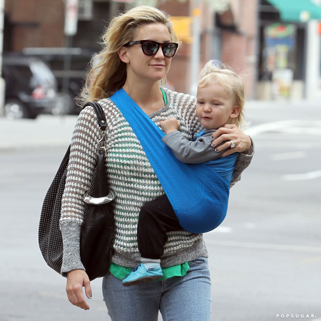 Kate Hudson With Her Kids in NYC | POPSUGAR Celebrity Photo 5