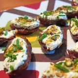 Goat Cheese and Pistachio Stuffed Dates Recipe