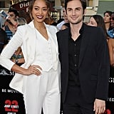 It's Clear That Amber Stevens Is the Apple of Andrew J. West's Eye