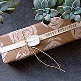 Celery Stamp Gift Wrap