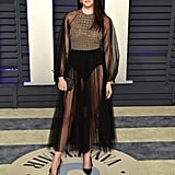 Shailene Woodley at the 2019 Vanity Fair Oscar Party