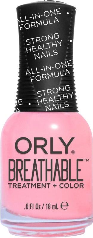 Breathable nail polishes