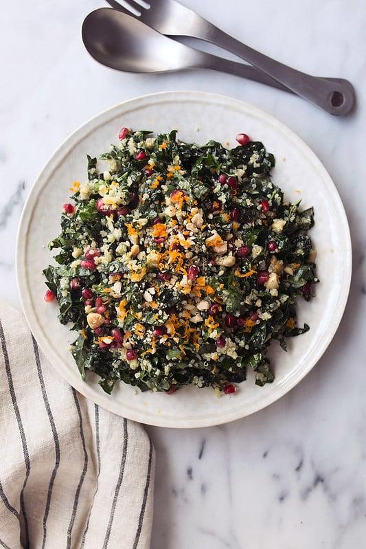 Kale and Quinoa Chopped Salad