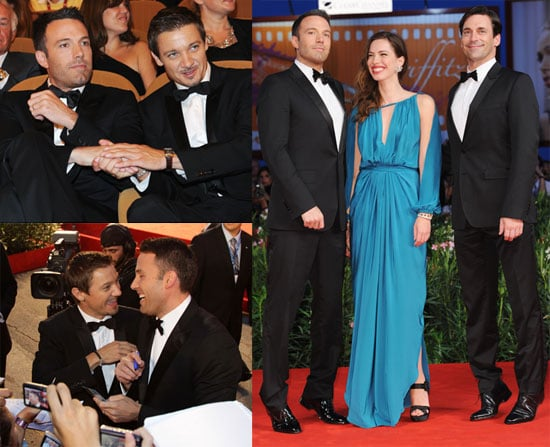 Pictures of Ben Affleck, Rebecca Hall, Jeremy Renner, and Jon Hamm Premiering The Town in Venice