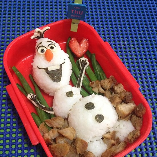 Frozen Movie Food Art