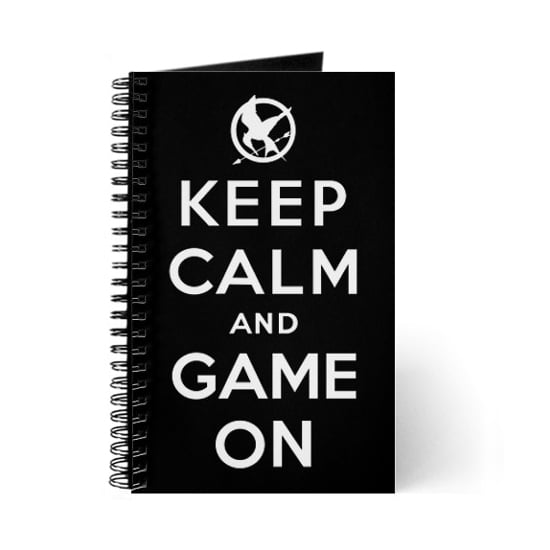 Keep Calm and Game On Journal, $18.50